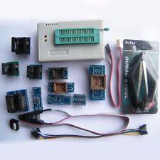 TL866II Plus USB minipro Programmer 10 Adapter EEPROM FLASH AVR MCU PIC SPI Kit