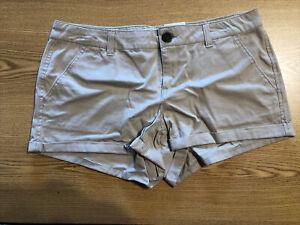SO Juniors 11 X 2.5 Wheat Khaki Shorts Shortie Stretch Retail $26 (a-blk-2-155)