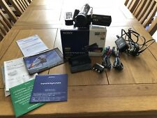 SONY HANDYCAM HDR-CX6EK CAMCORDER DIGITAL HIGH DEFINITION VIDEO + MEMORY STICK
