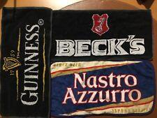 3 tovagliette pub: Beck's- Nastro Azzurro-Guinnes