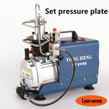 High Pressure Air Pump Compressor for Airgun Scuba Rifle PCP Inflator 300BAR