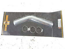 Harley Exhaust Heat Shield Rear Pipe 1 3/4 Staggered Dual 91-Up Dyna Glide 11987