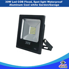 30W Led COB Flood, Spot light Waterproof Aluminum Cool white Garden/Garage