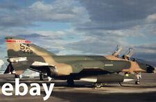 Diapositive - Color slide - F-4C 63-7449 - USAF 182nd TFS Texas ANG (1984)