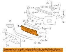Chevrolet GM OEM 15-16 Colorado Bumper Face-Foam Impact Absorber Bar 22891698