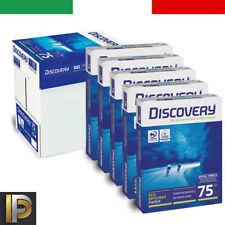 CARTA PER STAMPANTE A4 DISCOVERY 5 RISME 75GR  [TOP QUALITY]  500 FOGLIA A RISMA