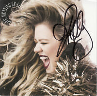 KELLY CLARKSON Meaning Of Life 2017 UK SIGNED / AUTOGRAPHED 14-track CD + CoA