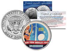 WORLD'S FAIR 1939 NEW YORK * 75th Anniversary * 2014 JFK Half Dollar US Coin