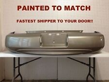 Fits; 2000 2001 NEW Nissan Altima Rear Bumper Painted to Match (NI1100219)