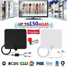 150 Miles Indoor DTV Digital TV Antenna HDTV Antena HD Cable TV Antena & Booster