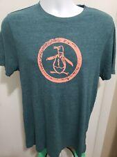 Original Penguin Munsingwear Men's Medium Graphic T-Shirt Logo Green