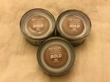 Revlon Colorstay Creme Eyeshadow Bold #810 Cognac Lot of 3 NEW