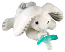 RaZ-Buddy Bunny - Plush Pacifier DUMMY HOLDER + FREE Jollypop