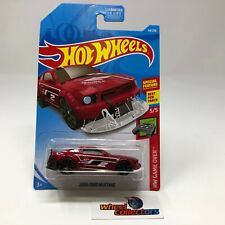 2005 Ford Mustang #44 * RED Kroger Only Color * 2019 Hot Wheels * R35
