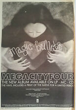 Mega City Four Magic Bullets 1993 UK Poster size Press ADVERT 16x12 inches