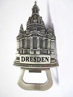 Dresden Frauenkirche Flaschenöffner 3D Metall Souvenir Germany silber