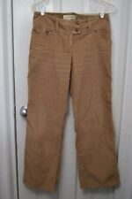 "Womens LONDON JEAN Chino Stretch The Marisa Fit, 4 short(29""), Solid Brown, GUC"