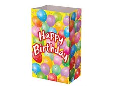 Themed Paper Bags - Birthday Party Gift Cake Candy Treat Sweet Kids P&M