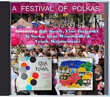 MZ 138 - Frank, Gene, Ray & Various Artists - A Festival Of Polkas - POLKA CD