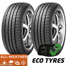 2X Tyres 225 55 R17 101V XL All weather All season M+S CrossClimate Winter Summe