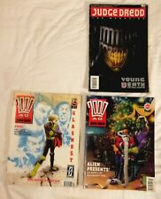 Judge Dredd The Megazine 12 and 2000AD progs 703 & 710 - 1990/1991
