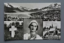 R&L Postcard: Sweden Belgian Queen Astrid Mourning Card