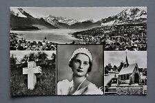 R&L Postcard: Sweden Belgian Queen Astrid Mourning Card