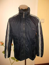 vintage ONYX Nylon Regenjacke 2 Streifen rain jacket oldschool festival L