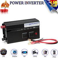 Power Inverter Auto USB 2000/4000W WATT Charger 12V DC To110V AC Adapter Convert