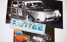 "DECAL CALCA 1/43 SIMCA 1000 ""AUTOSPORT"" A. ZANINI RALLY COSTA BRAVA 1971"