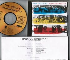 THE POLICE Synchronicity JAPAN 24k GOLD CD D33Y3405 w/Insert STING Free S&H/P&P