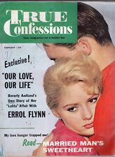 FEBRUARY 1960 TRUE CONFESSIONS MAGAZINE-ROMANCE-STORY-VINTAGE ADS-RARE