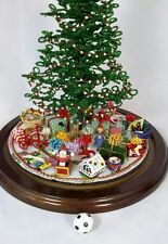 For Westrim Beaded Mini Christmas Tree * Under Tree Decor * Soccer Ball