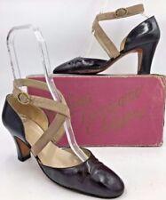 9249fb7c9ecfe3 Heels Brown Vintage Shoes for Women