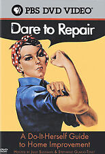 Dare to Repair: A Do-It-Herself Guide to Home Improvement (DVD, 2005)