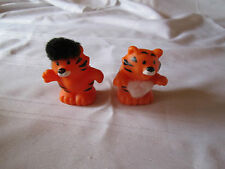 fisher price little people tiger zoo ark Noah fuzzy touch and feel cat circus