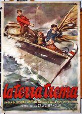 original m. poster LA TERRA TREMA Luchino Visconti 1949 NEOREALISM MASTERPIECE
