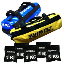 10KG & 15KG CROSSFIT SANDBAG POWER SAND BAG STRENGTH TRAINING FITNESS KETTLEBELL