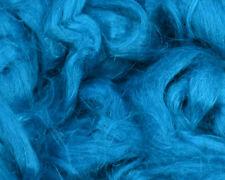 100 % Leinen Kammzug kobalt, Leinen für filzen und spinnen 100 g farbig