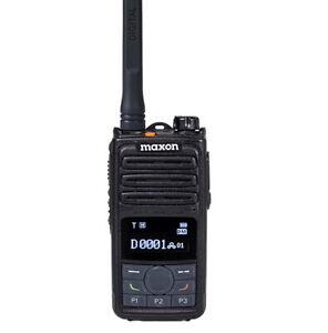 MAXON MDP-6124 VHF DMR Tier II TDMA/ Analog Portable radio 5W 2500 Channels