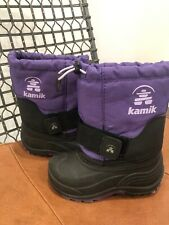 Kamik Snow Boots Toddler Kids 8 Winter Ski