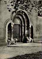 Kirchen Motiv-Postkarte Stiftskirche Kirche in Königslutter ungelaufen ~1960 s/w
