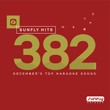 Sunfly Karaoke Hits SF382 December 2017 (CDG) Official Sunfly - Free UK Post