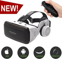 Google Headset 3D Virtual Reality VR Remote Control For Samaung S7 S8 iPhone 7 8
