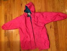 Cabin Creek Womens Vintage Jacket Nylon 90s Bright Pink