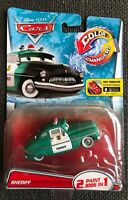 Disney Pixar Cars Color Changers SHERIFF 2 Paint Jobs in 1 VHTF Mattel