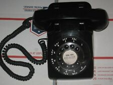 Vintage Bell Western Electric 500DM Rotary Telephone Black