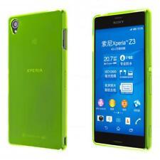 Teléfono Sony Xperia Z3 SILICIO TPU caso cubierta verde