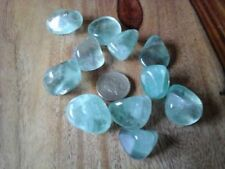 Green Fluorite Tumblestone is a deeply relaxing stone which bring peace of mind