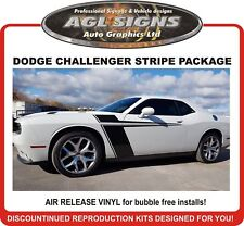 DODGE CHALLENGER SIDE FENDER R/T DECAL KIT GRAPHIC STRIPE